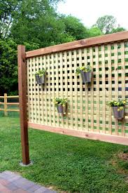Best 25+ Patio Privacy Ideas On Pinterest   Patio Privacy Screen ... 20 Awesome Small Backyard Ideas Backyard Design Entertaing Privacy Fence Before After This Nest Is Fniture Magnificent Lawn Garden Best 25 Privacy Ideas On Pinterest Trees Breathtaking Designs And Styles Pergola Fencing For Yards Gate Design By 7 Tall Cedar Fence With 6x6 Posts 2x6 Top Cap 6 Vinyl Fencing Provides Safety And Security Without Fences Hedges To Plant Fastgrowing Elegant