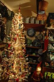 Decorated With Antique Glass Ornaments