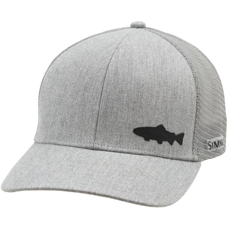 Simms Trucker Cap (Trout) Heather Grey