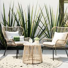 Latigo 3pc All-Weather Wicker Outdoor Patio Chat Set Tan ... Marvelous Brown Woven Patio Chairs Remarkable Plastic Delightful Wicker Folding Fniture Resin Best Bunnings Outdoor Black Lowes Ding French Caf 3pc Bistro Set Graywhite Target Stackable Metal Buy All Weather Gray Cozy Lounge Chair For Exciting Gorgeous Designer Home Depot Clearance Grey 5piece Chairsplastic Marvellous Modern Beautiful Yard Winsome Surprising