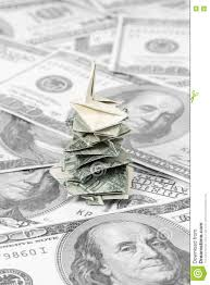 Download Christmas Money Tree Stock Image Of Business Idea