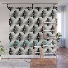 100 Natural Geometry Wall Mural
