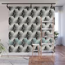 100 Natural Geometry Wall Mural
