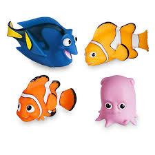 your wdw store disney bath toy set finding nemo