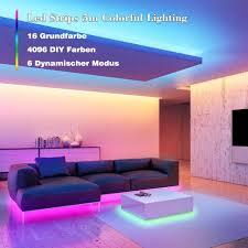 led streifen rgb led strips 5m mit ir fernbedienung und 12v stromversorgung farbwechsel smd 5050 farbänderung led band für zuhause