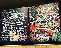 Beautiful Works Of Art Drawn On Starbucks Boards From The US And Japan Photo Gallery