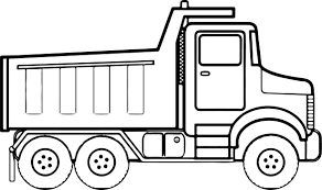 Printable Truck Coloring Pages New Trucks Coloring Page The Best ...