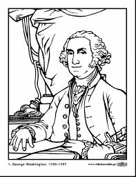 Download Coloring Pages Presidents Day George Washington Page
