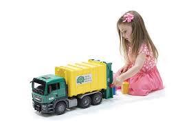 100 Garbage Truck Youtube Amazoncom Bruder Man Tgs Rear Loading Orange Vehicle Toys