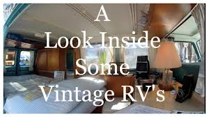 RV TOUR OF REMODELED VINTAGE RVS