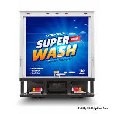 100 Poly Box Trucks 28ft Truck Wraps Billboard Advertising Truck Stickers Prints