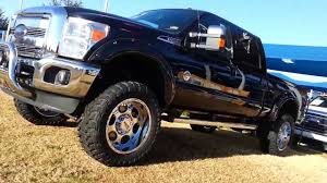 Mud Ready And Doing Right 6 LIFTED 2014 F250 4x4 Lariat Crew Cab Power Stroke Diesel Truck TDY