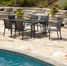 Pier One Dining Table Set by Patio Glamorous Walmart Porch Furniture Wicker Outdoor Dining