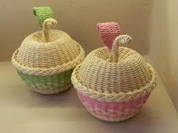 Newspaper CraftsNewspaper BasketCraft WorkBasket