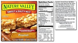 Nature Valley Chewy Granola Bar Nutrition Facts Besto Blog