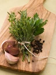 cuisine bouquet garni bouquet garni garlic cloves and peppercorns stock image image of