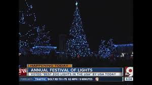 Kroger Christmas Tree Lights by Festival Of Lights At Cincinnati Zoo Making Spirits Bright This