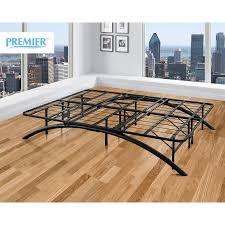 premier ellipse arch platform bed frame black multiple sizes