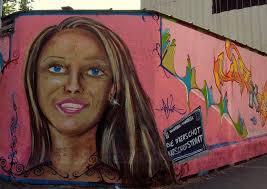 fresque 32 a la rue d aerschot les filles posent bd
