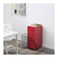 Ikea Anebo by Ikea Helmer Drawer Unit On Casters Red Slot For Label On