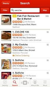 Yelp For IPhone Review Rating
