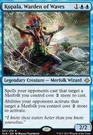 mtg merfolk deck legacy in waves modern mtg deck