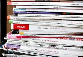 Stack Fashion Magazines Design Images