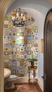 Tuscan Decorative Wall Plates by Wall Ideas Spanish Design Powder Room Spanish Wall Decor Quotes