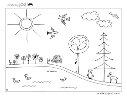 Coloring Pages Kite Sheet Flying