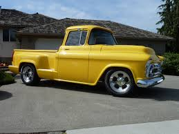 1957 Chevrolet Big Window Custom Pickup – The Rod God 1955 Chevy Truck For Sale Youtube 57 Pickup Truck 1 Ton Extended Cab Dually With 454 Sitting 1957 Chevrolet Pick Up Bangshiftcom Stock Photos Images Alamy 9 Sixfigure Trucks The Trade 3100 Swapping Stre Hemmings Stance Works Adams Rotors Pickup Chevrolet 3100sidestep Rat Rod Hot No Reserve Awesome Engine Install Used Step Side At Webe Autos Serving