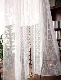 2017 neue amerikanischen land pastoral bestickt schlafzimmer wohnzimmer weiß tüll voile gardinen für esszimmer mädchen floral