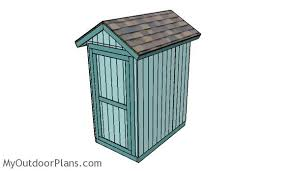 4x6 Outdoor Storage Shed by 4x6 Shed Plans Myoutdoorplans Free Woodworking Plans And