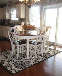 Standard Size Rug For Dining Room Table by Area Rugs Marvelous Area Rug Under Dining Table Size Simple What