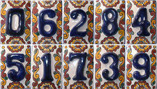 Mexican Tile House Numbers With Frame by Mexican House Number Ceramic Tiles Best House 2017