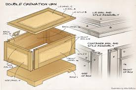 companion cremation urn canadian woodworking magazine