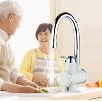Elektrischer Wasserhahn Durchlauferhitzer Armatur Mischbatterie Miixia Elektrischer Wasserhahn Durchlauferhitzer Real De