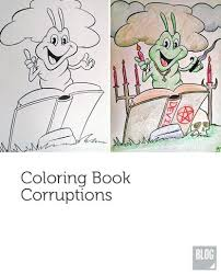 Hilarious Coloring Book Images Corrupted From An Adults Perspective