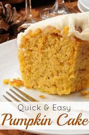 Easy Pumpkin Desserts by Quick Easy Pumpkin Dessert Recipes Food Easy Recipes