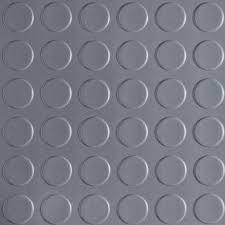 Slate Grey Commercial Grade Vinyl Garage Flooring Cover