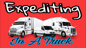 Straight Truck Expediting - YouTube