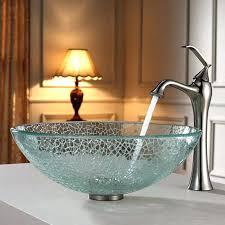 Silver Vessel Sink Home Depot by Glass Bathroom Sinks Bowls U2013 Paperobsessed Me