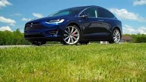 Suvs With Captain Chairs Second Row by 2017 Tesla Model X First Drive Electric Suv Consumer Reports