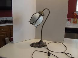 Tiffany Style Lamps Vintage by Vintage Tulip Lamp Tulip Lamp Victorian Table Lamp Tiffany