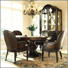 Dining Room Chairs With Casters Dining Room Chair Casters