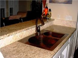 gorgeous copper kitchen sinks emerson design