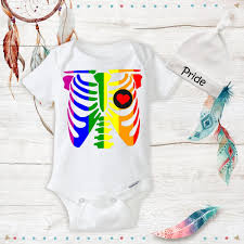 LGBT Pride Rainbow Organic Onesies Lesbian Moms LGBT Gay Baby Shower Gift Ideas Newborn Baby Stuff Infant Cute Baby Outfits New Baby