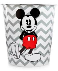 Macys Mickey Mouse Bathroom Set by Mickey Chevron Waste Basket Bathroom Accessories Bed U0026 Bath