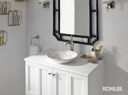 Kohler Reve Sink Uk by The Conical Bell Vessel Bathroom Sink With Gilded Meadow Design