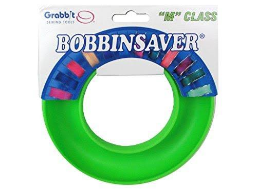 Grabbit Class Bobbinsaver Bobbin Holder - Lime Green, Medium