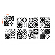 Smart Tiles Peel And Stick by Peel And Stick Tiles Vintage Bilbao Patchwork Smart Tiles